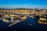 Marseille aérien depuis la Digue du Large du GPMM