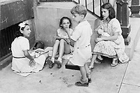 1936 file photo -<br /> <br /> New York City kids play outside.