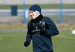 St Johnstone Training….15.03.19<br />Danny Swanson pictured during training this morning at McDiarmid Park ahead of tomorrow's game against St Mirren.<br />Copyright Perthshire Picture Agency<br />Tel: 01738 623350  Mobile: 07990 594431