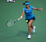 Na LI Wins the women's final at the Western & Southern Open in Mason, OH on August 19, 2012.