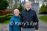 Enjoying a stroll in the Killarney National park on Sunday, l to r: Christine and Denis Carroll.