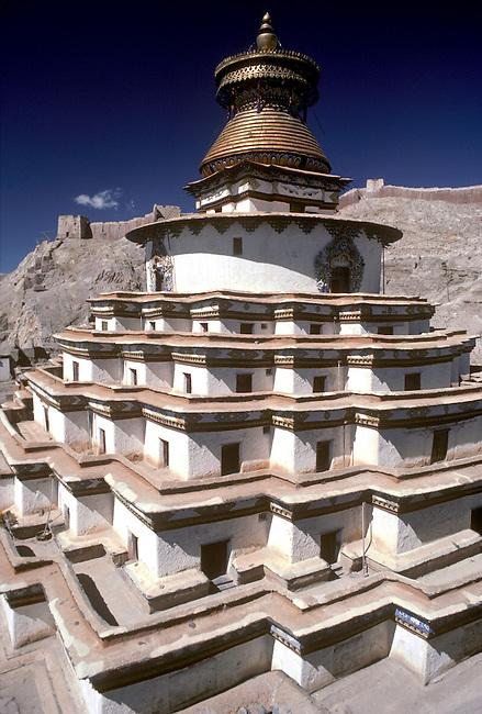 Kumbum Chapels, Buddhist Monastery, TIBET