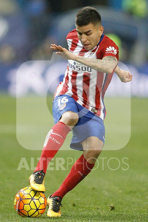 Atletico de Madrid's Angel Correa during La Liga match. February 21,2016. (ALTERPHOTOS/Acero)
