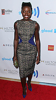 BEVERLY HILLS, CA, USA - APRIL 12: Actress Lupita Nyong'o arrives at the 25th Annual GLAAD Media Awards held at The Beverly Hilton Hotel on April 12, 2014 in Beverly Hills, California, United States. (Photo by Xavier Collin/Celebrity Monitor)