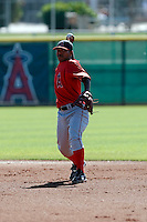 Alexi Amarista - Los Angeles Angels - 2009 spring training.Photo by:  Bill Mitchell/Four Seam Images