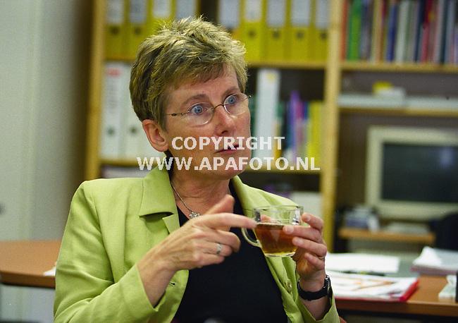 zutphen 250600 leidy van der aalst directeur welzijnswerk zutphen<br />foto frans ypma APA-foto