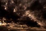 Cumulonimbus Clouds With Dramatic Sky