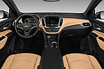 Stock photo of straight dashboard view of a 2020 Chevrolet Equinox Premier 5 Door SUV