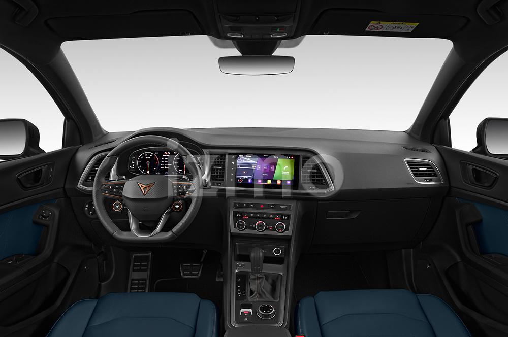 Straight dashboard view of a 2021 Cupra Ateca - 5 Door SUV