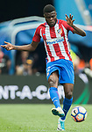 Thomas Teye Partey of Atletico de Madrid in action during their La Liga match between Atletico de Madrid vs Athletic de Bilbao at the Estadio Vicente Calderon on 21 May 2017 in Madrid, Spain. Photo by Diego Gonzalez Souto / Power Sport Images
