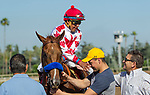 ARCADIA, CA APRIL 22:  #1 Collected ridden by Martin Garcia, receives congratulations from asst trainer Jimmy Barnes after winning the Californian Stakes (Grade ll) on April 22, 2017 at Santa Anita Park in Arcadia, CA.(Photo by Casey Phillips/Eclipse Sportswire/Getty Images)ARCADIA, CA APRIL 22:  #1 Collected ridden by Martin Garcia, receives congratulations from asst trainer Jimmy Barnes after winning the Californian Stakes (Grade ll) on April 22, 2017 at Santa Anita Park in Arcadia, CA.(Photo by Casey Phillips/Eclipse Sportswire/Getty Images)