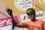 Olympic Champion Greg Van Avermaet (BEL) CCC Team at sign on before the start of the 111th edition of Milan- San Remo 2020, running 305km from Milan to San Remo, Italy. 8th August 2020.<br /> Picture: LaPresse/Fabio Ferrari | Cyclefile<br /> <br /> All photos usage must carry mandatory copyright credit (© Cyclefile | LaPresse/Fabio Ferrari)