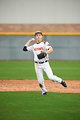 Nicholas Broshears (5) of Cerritos Hs High School in Cerritos, California during the Under Armour All-American Pre-Season Tournament presented by Baseball Factory on January 15, 2017 at Sloan Park in Mesa, Arizona.  (Zac Lucy/Mike Janes Photography)