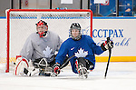 Benoit St-Amand and Tyler McGregor, Sochi 2014 - Para Ice Hockey // Para-hockey sur glace.<br />