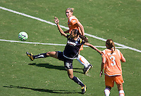 LA Sol's Marta stretches for a ball. The Sky Blue FC defeated the LA Sol 1-0 to win the WPS Final Championship match at Home Depot Center stadium in Carson, California on Saturday, August 22, 2009...