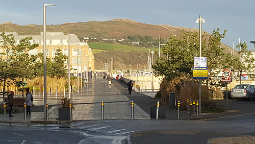 The new Greystones Harbour boardwalk