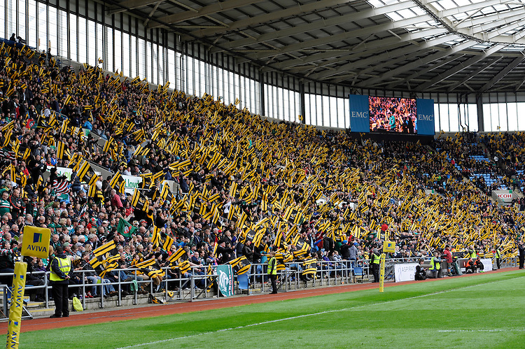 Wasps sell out the Ricoh Arena for their match against Leicester Tigers