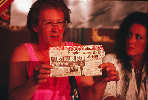 Jefferson Airplane 1989 Paul Kantner and Grace Slick<br /> © Chris Walter