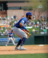 Cristian Santana - Los Angeles Dodgers 2020 spring training (Bill Mitchell)
