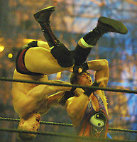 Rob Van Dam  Willam Regal at Wrestlemania 2002                                                                         By John Barrett/PHOTOlink
