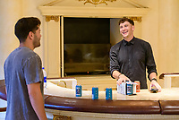 LAS VEGAS, NV - July 15, 2021: Dylan Barbour and Blake Horstmann pictured at Westgate Las Vegas Resort & Casino in Las Vegas, NV on July 15, 2021. <br /> CAP/MPI/GDP<br /> ©GDP/MPI/Capital Pictures