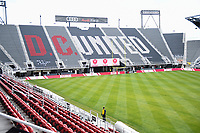 Washington, DC - Sunday JAN 26, 2020: DC Defenders home field at the open house at  Audi Field in Washington, DC. (Photo by Phil Peters/Media Images International)