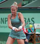 Sloane Stephens (USA)  wins at Roland Garros in Paris, France on June 1, 2012