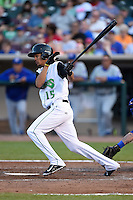 Dayton Dragons center fielder Jose Siri (15) during a game against the South Bend Cubs on May 11, 2016 at Fifth Third Field in Dayton, Ohio.  South Bend defeated Dayton 2-0.  (Mike Janes/Four Seam Images)