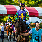 SEPT 06, 2021: KEVIN'S FOLLY in the Gr.1 Hopeful  Stakes, for 2-year olds, going 7 furlongs, at Saratoga Racecourse, Saratoga Springs, New York. Sue Kawczynski/Eclipse Sportswire/CSM