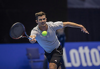 Rotterdam, Netherlands, December 15, 2016, Topsportcentrum, Lotto NK Tennis,  Antal van der Duim (NED) <br /> Photo: Tennisimages/Henk Koster