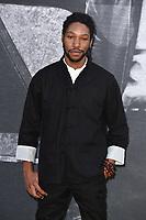 "Jumayn Hunter<br /> arriving for the premiere of ""Yardie"" at the BFI South Bank, London<br /> <br /> ©Ash Knotek  D3422  21/08/2018"