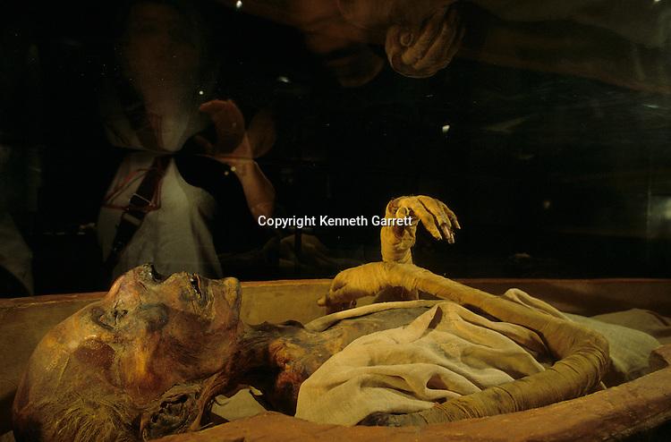 Mummy of Ramses II, Egyptian Museum, Cairo