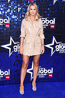 Vogue Williams<br /> arriving for the Global Awards 2020 at the Eventim Apollo Hammersmith, London.<br /> <br /> ©Ash Knotek  D3559 05/03/2020