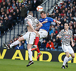 Lee McCulloch up front attacking