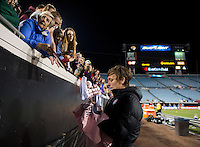 Abby Wambach, USWNT fans, EverBank field.  The USWNT defeated Scotland, 4-1, during a friendly at EverBank Field in Jacksonville, Florida.