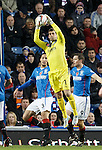 Cammy Bell saves for Rangers