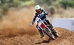 Declan Connors 8-11 years 85cc. New Zealand Motocross Age Group Nationals, TECT All Terrain Park, Bay of Plenty, Sunday 7 February 2021. Photo: Simon Watts/www.bwmedia.co.nz