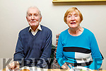 John and Eileen Murrihy from Tralee enjoying the evening in Bella Bia on Thursday.