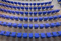 28. Sitzung des Deutschen Bundestag am Mittwoch den 25. April 2018.<br /> Im Bild: Sitze der Abgeordneten im Plenarsaal vor der Sitzung.<br /> 25.4.2018, Berlin<br /> Copyright: Christian-Ditsch.de<br /> [Inhaltsveraendernde Manipulation des Fotos nur nach ausdruecklicher Genehmigung des Fotografen. Vereinbarungen ueber Abtretung von Persoenlichkeitsrechten/Model Release der abgebildeten Person/Personen liegen nicht vor. NO MODEL RELEASE! Nur fuer Redaktionelle Zwecke. Don't publish without copyright Christian-Ditsch.de, Veroeffentlichung nur mit Fotografennennung, sowie gegen Honorar, MwSt. und Beleg. Konto: I N G - D i B a, IBAN DE58500105175400192269, BIC INGDDEFFXXX, Kontakt: post@christian-ditsch.de<br /> Bei der Bearbeitung der Dateiinformationen darf die Urheberkennzeichnung in den EXIF- und  IPTC-Daten nicht entfernt werden, diese sind in digitalen Medien nach §95c UrhG rechtlich geschuetzt. Der Urhebervermerk wird gemaess §13 UrhG verlangt.]
