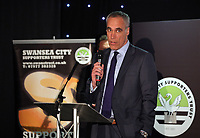 Pictured: Chris Pearlman  Wednesday 18 May 2017<br /> Re: Swansea City FC, Player of the Year Awards at the Liberty Stadium, Wales, UK.