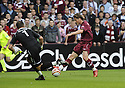 20/09/2008  Copyright Pic: James Stewart.File Name : sct_jspa01_hearts_v_ict.SAULIUS MIKOLIUNAS SCORES HEARTS FIRST.James Stewart Photo Agency 19 Carronlea Drive, Falkirk. FK2 8DN      Vat Reg No. 607 6932 25.James Stewart Photo Agency 19 Carronlea Drive, Falkirk. FK2 8DN      Vat Reg No. 607 6932 25.Studio      : +44 (0)1324 611191 .Mobile      : +44 (0)7721 416997.E-mail  :  jim@jspa.co.uk.If you require further information then contact Jim Stewart on any of the numbers above........