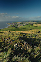 Girvan from the summit of Byne Hill, Girvan, Ayrshire<br /> <br /> Copyright www.scottishhorizons.co.uk/Keith Fergus 2011 All Rights Reserved