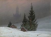 Full title: Winter Landscape<br /> Artist: Caspar David Friedrich<br /> Date made: probably 1811<br /> The National Gallery, London