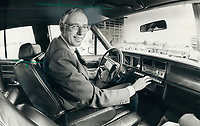 1979 FILE PHOTO - ARCHIVES -<br /> <br /> Ford Motor Company of Canada CEO Kenneth Harrigan in 1979<br /> <br /> PHOTO : Bezant, Graham<br /> <br /> 1979,<br /> <br /> PHOTO : Graham Bezant - Toronto Star Archives - AQP