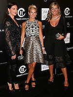 CULVER CITY, CA, USA - OCTOBER 08: Rochelle Gores Fredston, Jessica Seinfeld, Marigay McKee arrive at the 5th Annual PSLA Autumn Party benefiting Children's Institute, Inc. held at 3Labs on October 8, 2014 in Culver City, California, United States. (Photo by Xavier Collin/Celebrity Monitor)