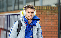 Jorginho of Chelsea arrives during the Premier League match between Crystal Palace and Chelsea at Selhurst Park, London, England on 30 December 2018. Photo by Andrew Aleks.