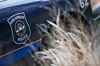 An Ann Arbor police car is seen in Ann Arbor, Michigan Friday June 7, 2013.