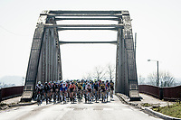"""under/over the bridge""<br /> <br /> 53rd Le Samyn 2021<br /> ME (1.1)<br /> 1 day race from Quaregnon to Dour (BEL/205km)<br /> <br /> ©kramon"