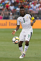 East Hartford, CT - Saturday July 01, 2017: Asamoah Gyan during an international friendly match between the men's national teams of the United States (USA) and Ghana (GHA) at Pratt & Whitney Stadium at Rentschler Field.