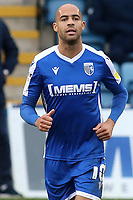 Jordan Graham of Gillingham during Gillingham vs Charlton Athletic, Sky Bet EFL League 1 Football at the MEMS Priestfield Stadium on 21st November 2020